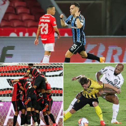 Gre-Nal, Palmeiras e Athletico agitam a quarta-feira dos times brasileiros na Libertadores