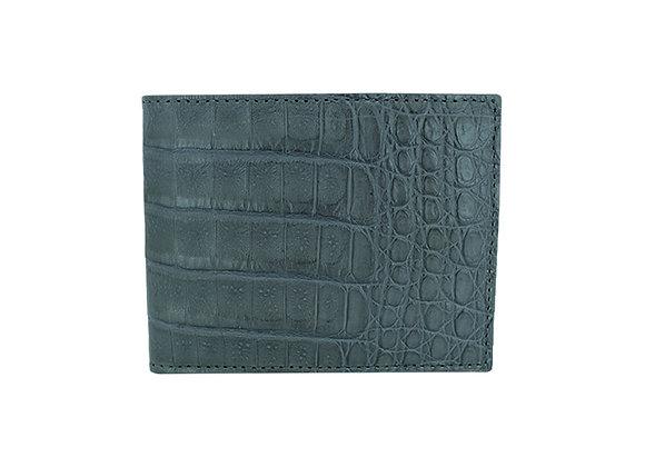 Bifold Belly Wallet Gray
