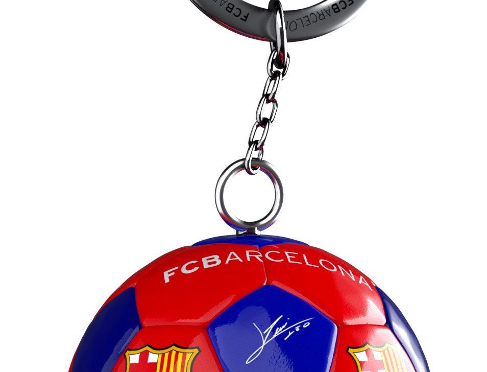 FCB Ball Keychain