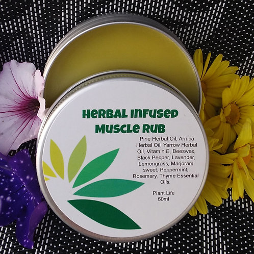 Herbal Infused Muscle Rub