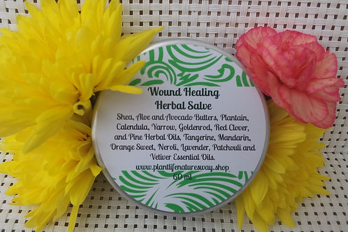 Wound Healing Herbal Salve