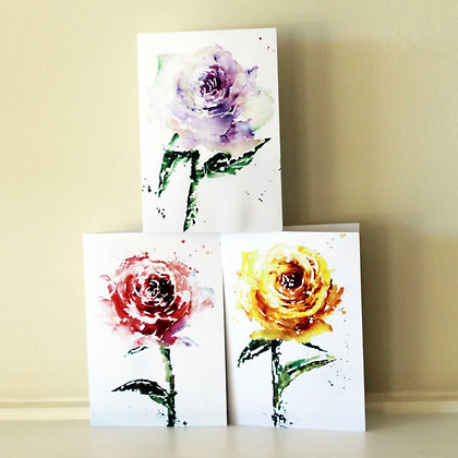Rose Collection (6 cards)