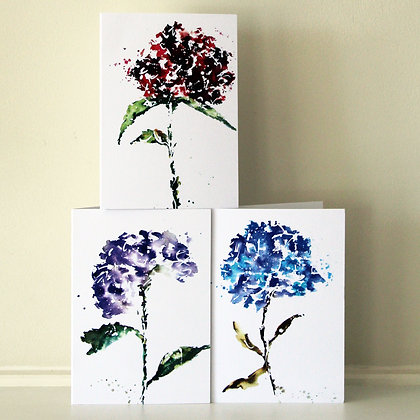 Hydrangea Collection (6 cards)
