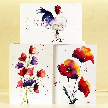 Greetings Cards (Pack of 6)