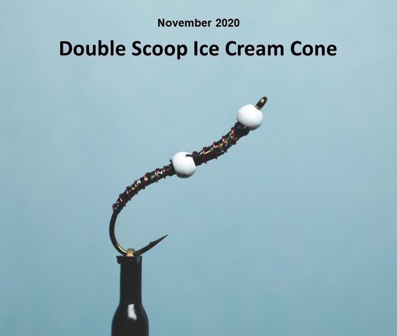 Double Scoop Ice Cream Cone