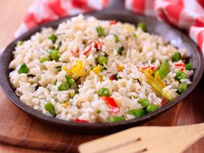 Ρύζι με Λαχανικά (Ταϊλανδέζικο)