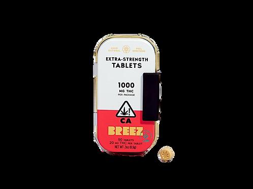 Breez Sativa 1000mg Tablets