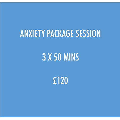 PAY FEE FOR ANXIETY PACKAGE X 3 SESSIONS