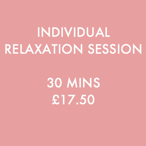 Relaxation Session (Individual)