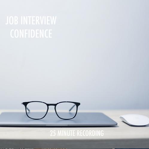 'JOB INTERVIEW CONFIDENCE'