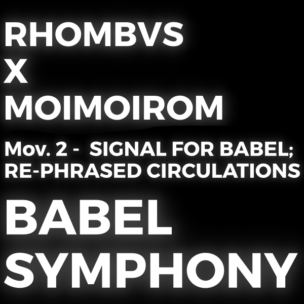 BABEL SYMPHONY MOV.2 COVER