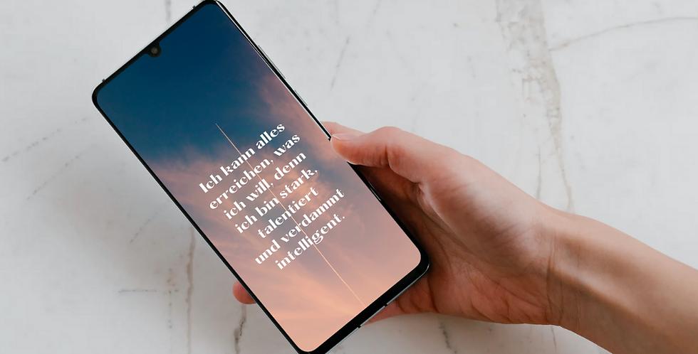 Affirmation Wallpaper Smartphone