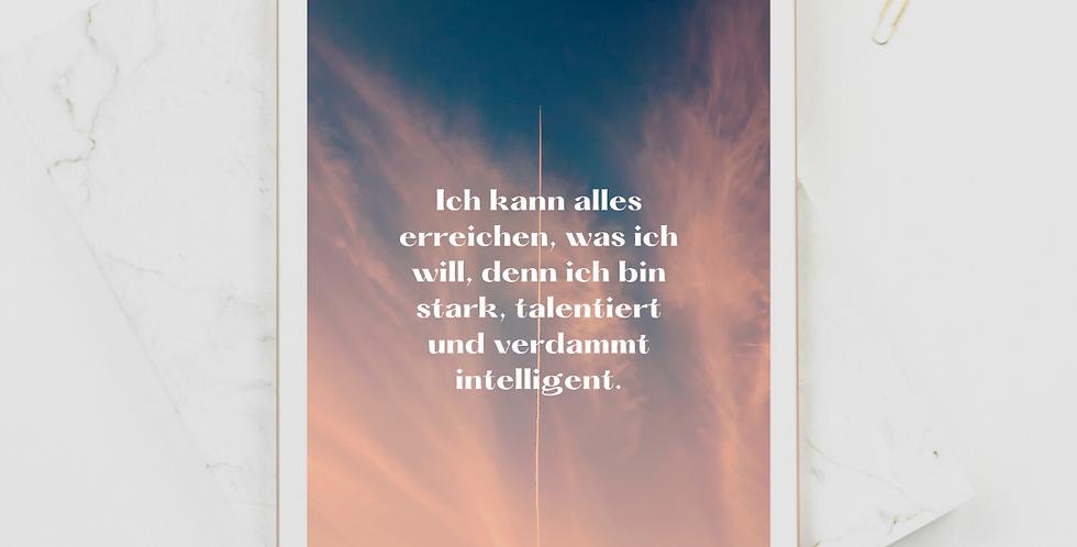 Affirmation Wallpaper Tablet