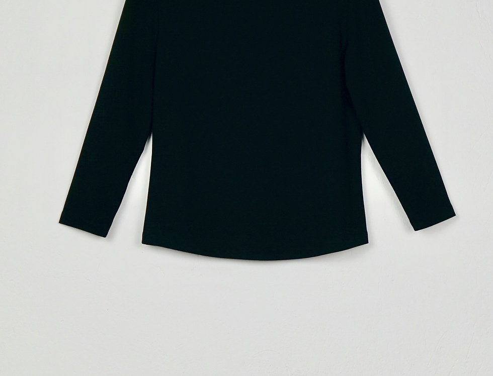 Top Bateau Neck with 3/4 Sleves