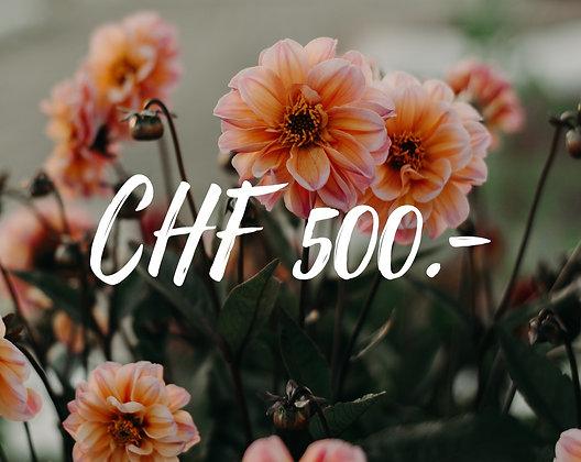 Gutschein CHF 500.-