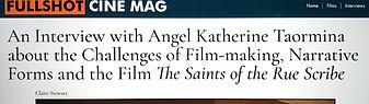 Fullshot Cine Mag Logo and Opening Headl