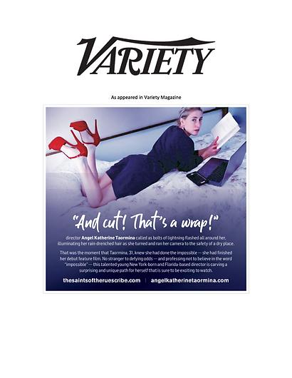 Angel Katherine Taormina in Variety Maga