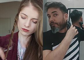 Kadın ve erkek evde saç kesimi için ne gerekir?