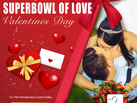 Valentines Day is the Super Bowl of Love
