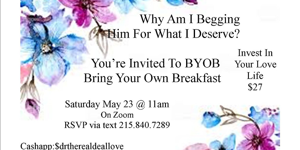 Bring Your Own Breakfast (BYOB)