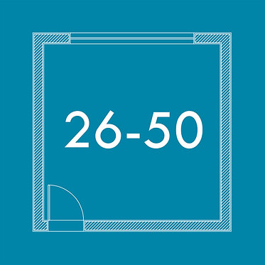 De 26m² a 50m²