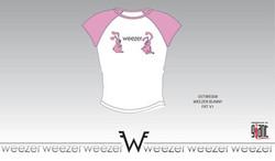 Weezer T-shirt Design