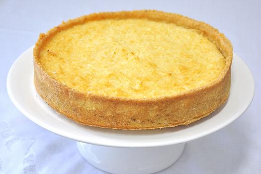 Torta de Coco, recheio de cocada de forno - Tudo Tortas