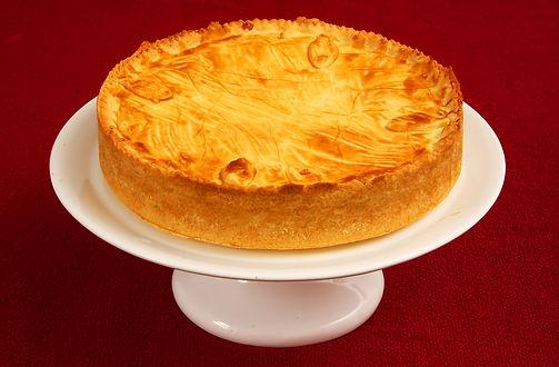 Torta de Creme de Mussarela saboroso