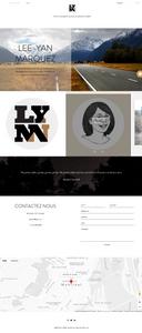 Screenshot of LYMN homepage