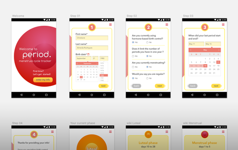period. | mobile application