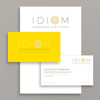 IDIOM Communications | Logo