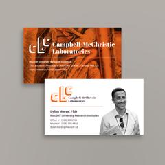 Campbell-McChristie Laboratories | Business cards