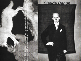 Comme des Garcons 'Man and Wolf' & Claude Cahun