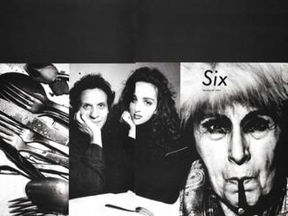 Alaïa Atelier & Louise Nevelson in Comme des Garcons 'Six'