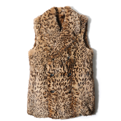 Number (N)ine: AW05 Felix Cat Fur Vest