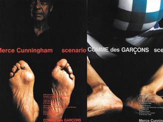 Comme des Garcons 'Scenario' featuring Merce Cunningham
