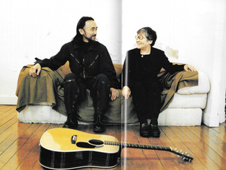 Yohji Yamamoto and His Mother