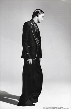 Hedi Slimane Era Dior Homme Editorial for HUGE Magazine, 2006 | ARCHIVE.pdf