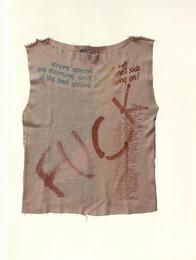 Sex Sleeveless Shirt in Jun Takahahi & Hiroshi Fujiwara Seditionaries Collection Book