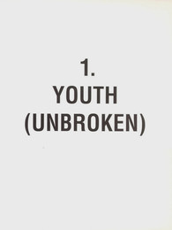 Chapter 1 - Youth (Unbroken)