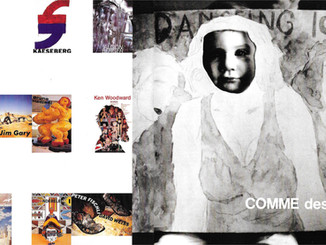 Comme des Garcons Aoyama Shop Display Announcements & 'The Taxi Dancer'