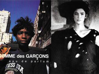 Comme des Garcons Parfum Advertisement & Hole Sweater