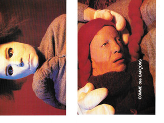 Comme des Garcons AW1994 by Cindy Sherman
