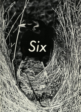 Comme des Garcons: SIX Number 4 Front Cover, 1989 | ARCHIVE.pdf
