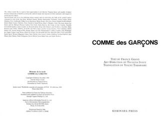 Comme des Garcons: Universe of Fashion