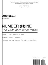 The Truth of Number (N)ine