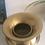 Thumbnail: Vintage Brass Platted Spittoon