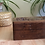 Thumbnail: Vintage Hand Carved Wood Jewelry Box