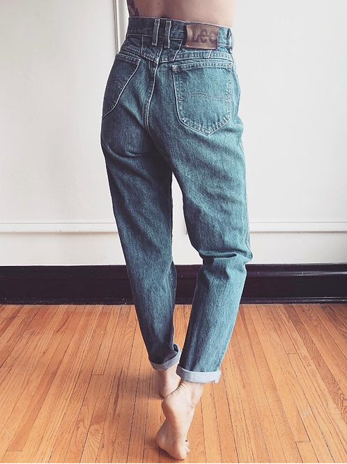 Vintage High Waisted Lee Jeans
