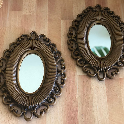 Vintage Framed Mirrors
